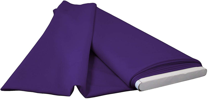 Polyester Poplin - Purple - Flat Fold Solid Color 60