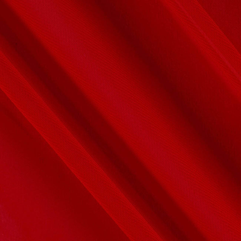Hi Multi Chiffon Fabric - Red - Chiffon High Quality Design Fabric Sold By The Yard 60