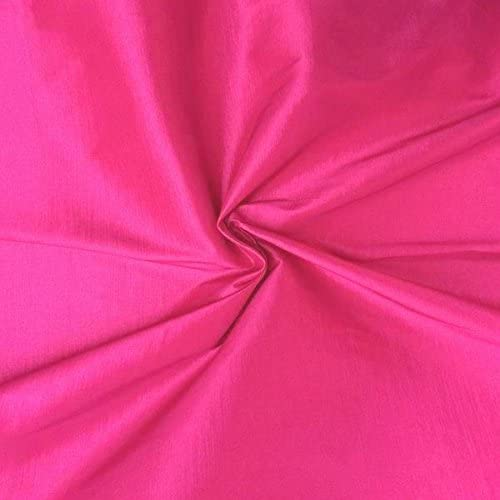 Stretch Taffeta Fabric - Rose - 58/60