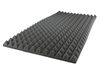 "2""X36""X72"" - Charcoal Acoustic Foam Sound Absorption Pyramid Studio Treatment Wall Panel (1 Panel)"