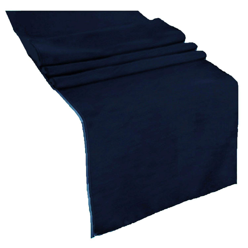 Table Runner ( Dark Navy Blue ) Polyester 12x72 Inches Great Quality Tablecloth for all Occasions