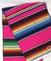Mexican Sarape - Fuschia - Table Runner 14