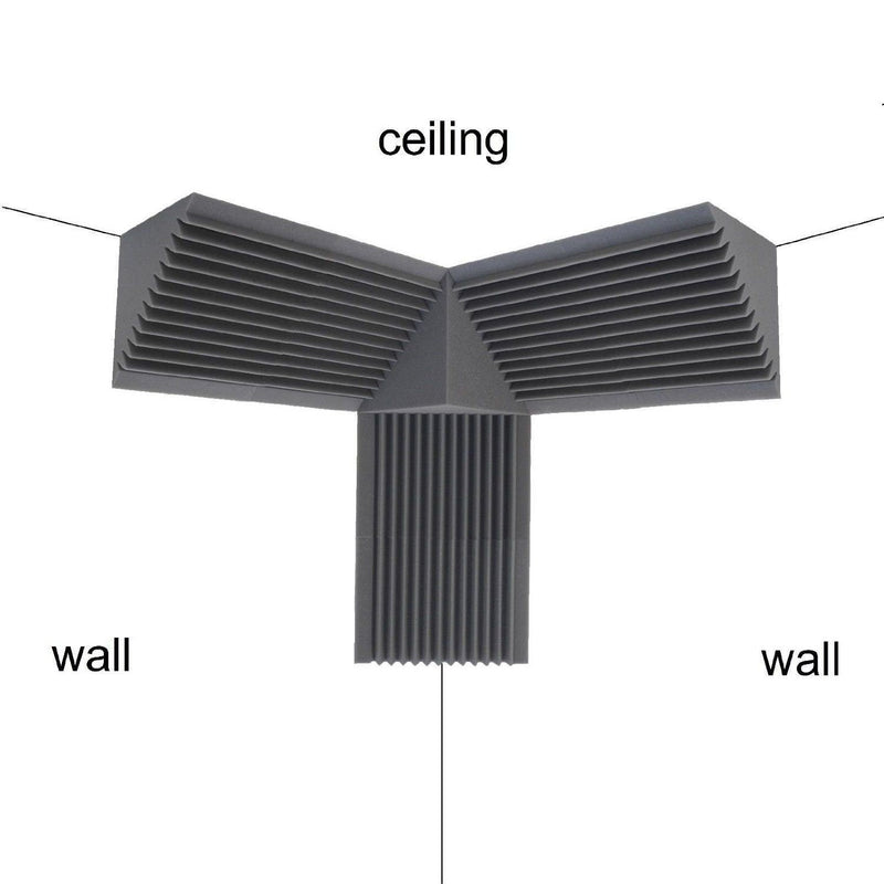 Acoustic Foam Bass Trap 6 Pack 12