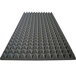 Foam Acoustic Panel Absorption 1 Pack Pyramid 96
