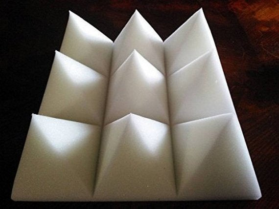 Acoustic Pyramid White 4