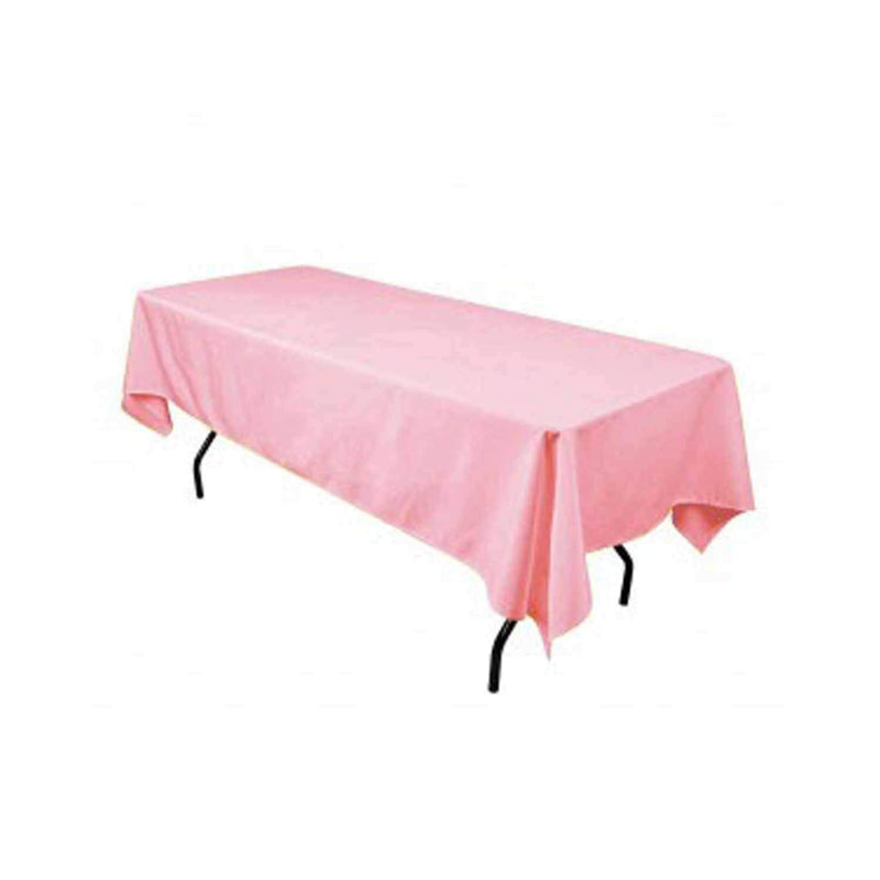 Pink 60x102\  Rectangular Tablecloth Polyester Rectangular Cloth Table Covers for All ...  sc 1 st  metatron fabrics & Pink 60x102\