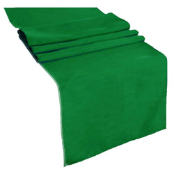 Table Runner ( Kelly Green ) Polyester 12x72 Inches Great Quality Tablecloth for all Occasions