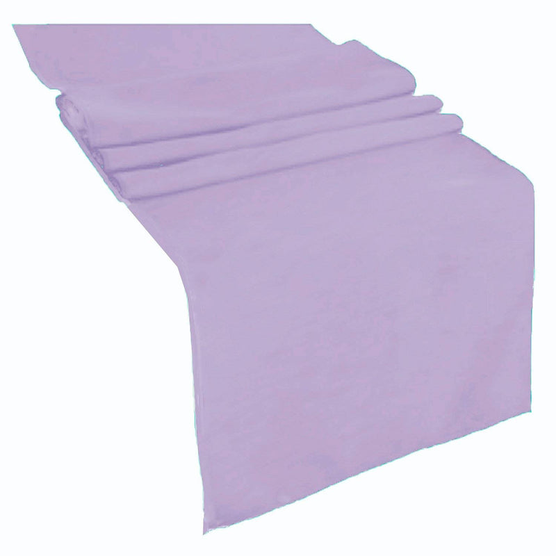 Table Runner ( Lavender ) Polyester 12x72 Inches Great Quality Tablecloth for all Occasions