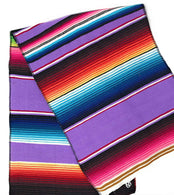 Mexican Sarape - Lilac - Table Runner 14