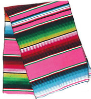 Mexican Sarape - Pink - Table Runner 14