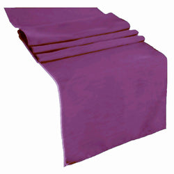 Table Runner ( Plum ) Polyester 12x72 Inches Great Quality Tablecloth for all Occasions