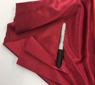 BURGUNDY 60 inch 2 Way Stretch Charmeuse Satin-Super Soft Silky Satin - By The Yard