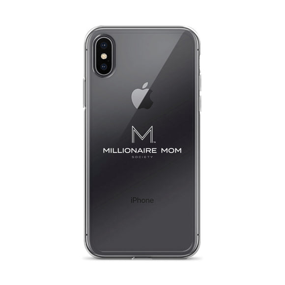 Millionaire Mom Society iPhone X Case