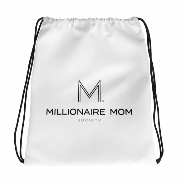 Millionaire Mom Society Drawstring bag - Go Go Gadget Outlet