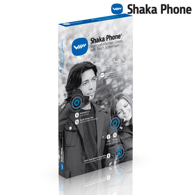 Shaka Phone Hands Free Gloves