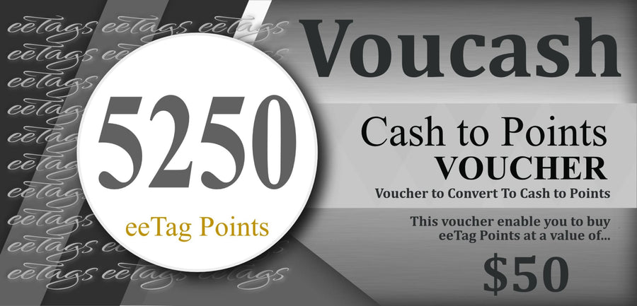 Eetag 5250 Points Voucher