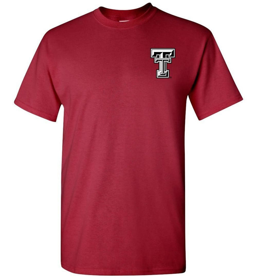 Official NCAA Texas Tech University Red Raiders TTU Masked Raider WRECK EM! Short-Sleeve T-Shirt - 36TT-15