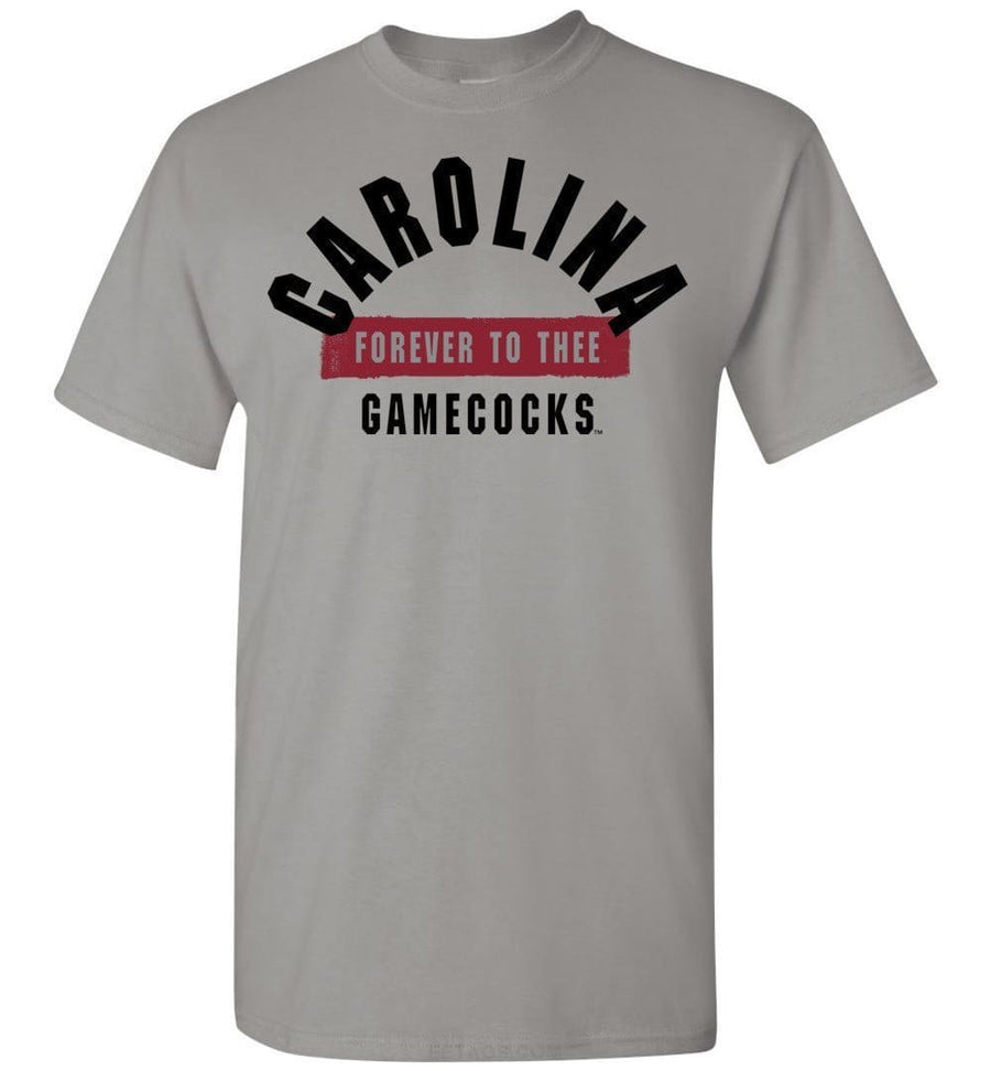 Official Ncaa University Of South Carolina Fighting Gamecocks Usc Cocky Sc Forever To Thee Short-Sleeve T-Shirt - 63M-Sc Men - Apparel -
