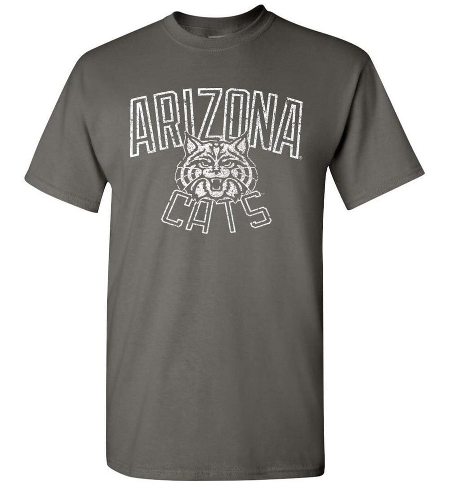 Official Ncaa Venley University Of Arizona Wildcats U Of A Wilber Wildcat Bear Down! Short-Sleeve T-Shirt - Uofa1142 Men - Apparel - Shirts