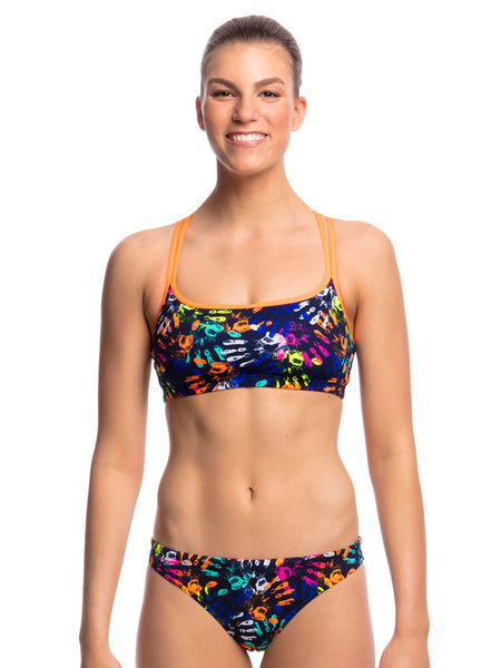 Funkita Hands Off Cross Back Two Piece - Ladies