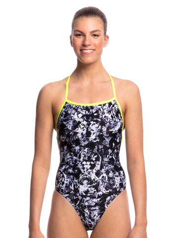 Funkita Midnight Assassin Strapped In One Piece - Ladies