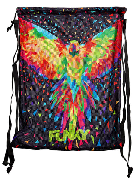 FUNKY Mesh Gear Bag - King Parrot