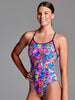 Funkita Club Tropo Diamond Back One Piece - Ladies