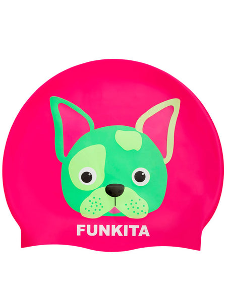 Funkita Silicon Swim Cap - Hot Diggity
