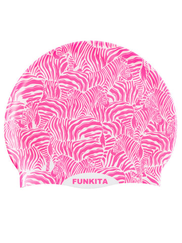 Funkita Silicon Swim Cap - Painted Pink