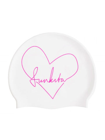 Funkita Silicon Swim Cap - Scribble