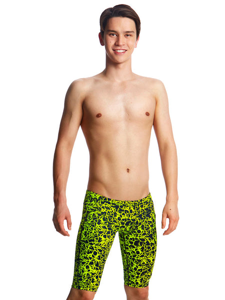 Funky Trunks Coral Gold Jammer - Boys