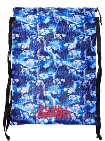 Funky Trunks Mesh Gear Bag - Head First