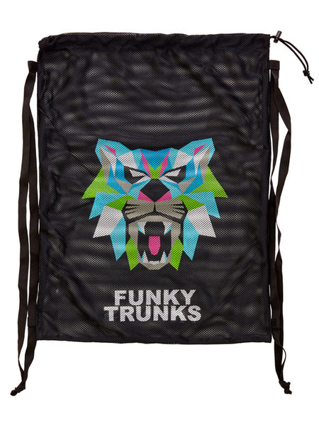 Funky Trunks Mesh Gear Bag - Predator Geo