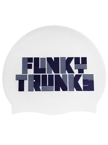Funky Trunks Silicone Swim Cap - Space Cadet