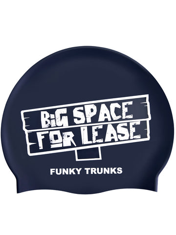 Funky Trunks Silicone Swim Cap - Space For Lease