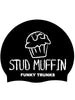 Funky Trunks Silicone Swim Cap - Stud Muffin