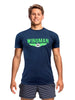 Funky Trunks Tee - Wingman Navy
