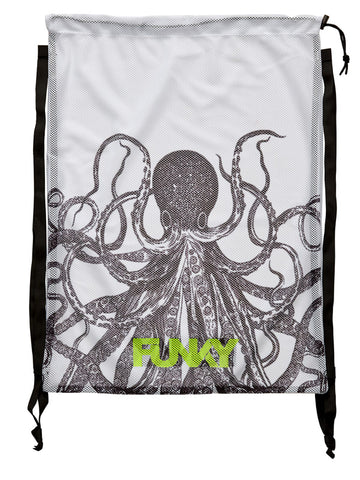 FUNKY Mesh Gear Bag - Octopussy
