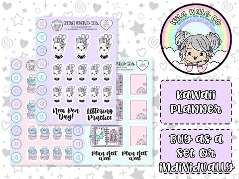 Kawaii Planner- Deco Buy Individually or as a set