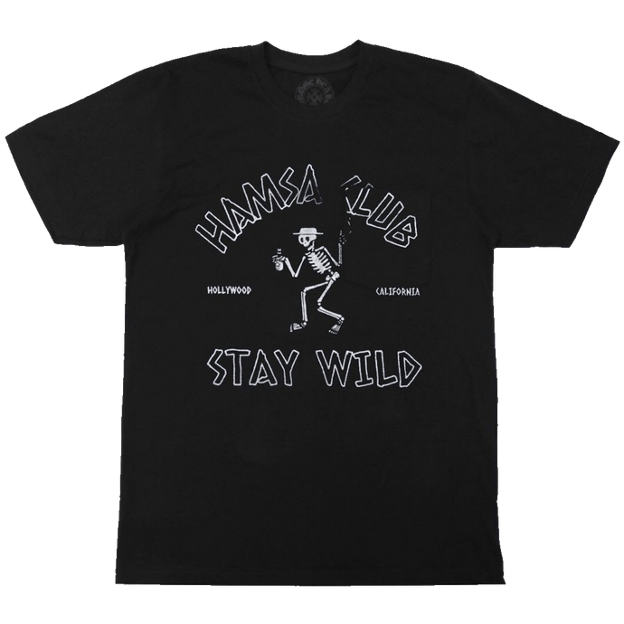 STAY WILD <br> POCKET TEE