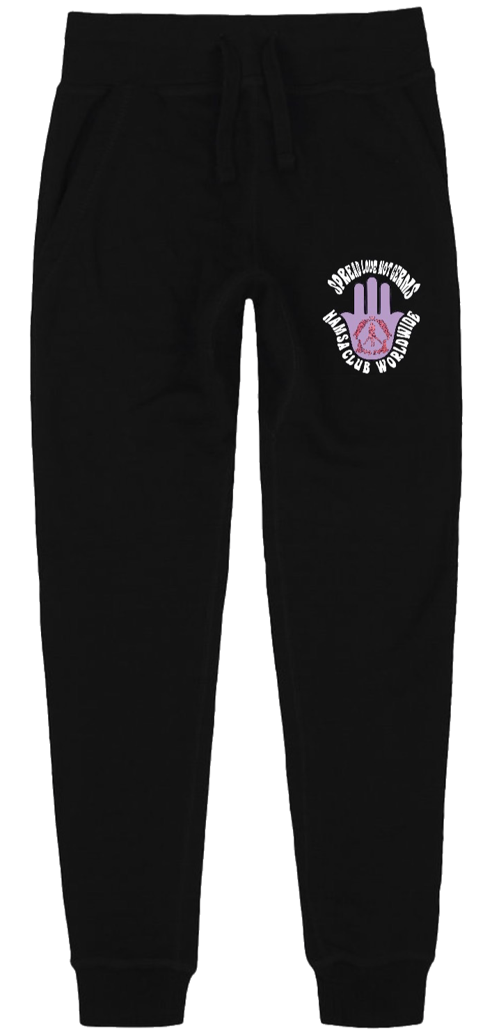 SPREAD LOVE SWEATS (BLACK)