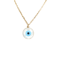 Load image into Gallery viewer, EVIL EYE OPAL NECKLACE