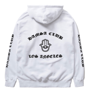 MEMBERS ONLY WHITE HOODIE