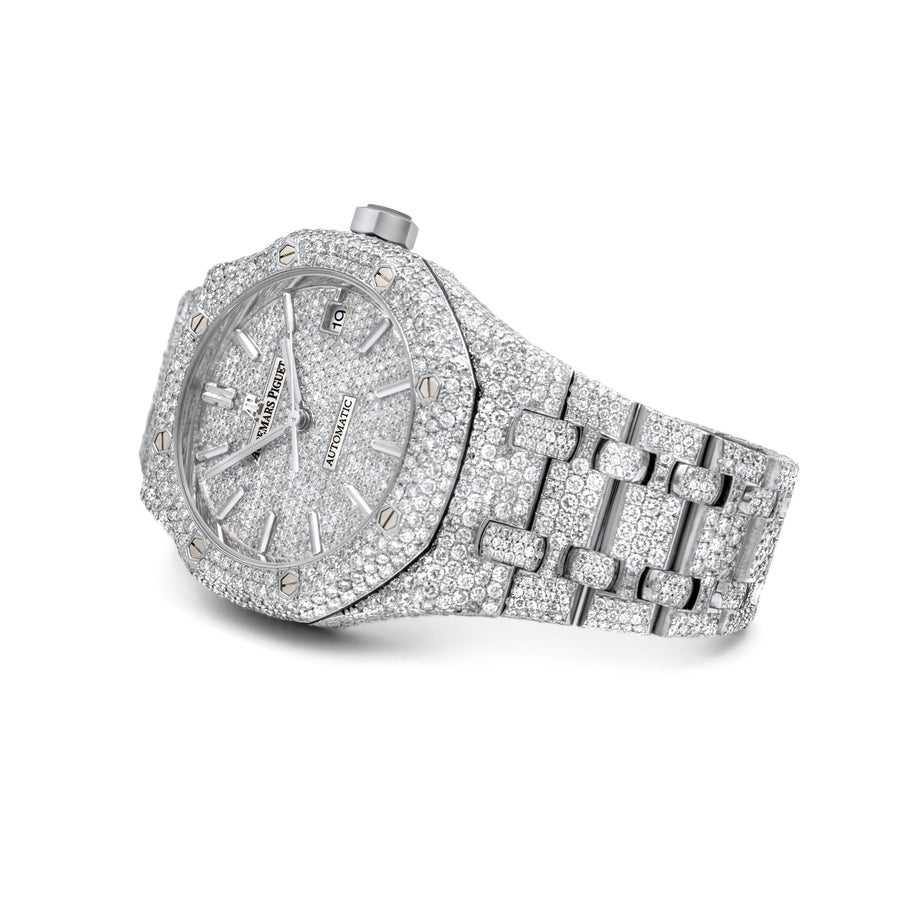 Audemars Piguet Royal Oak Ladies 37mm 24.32ctw