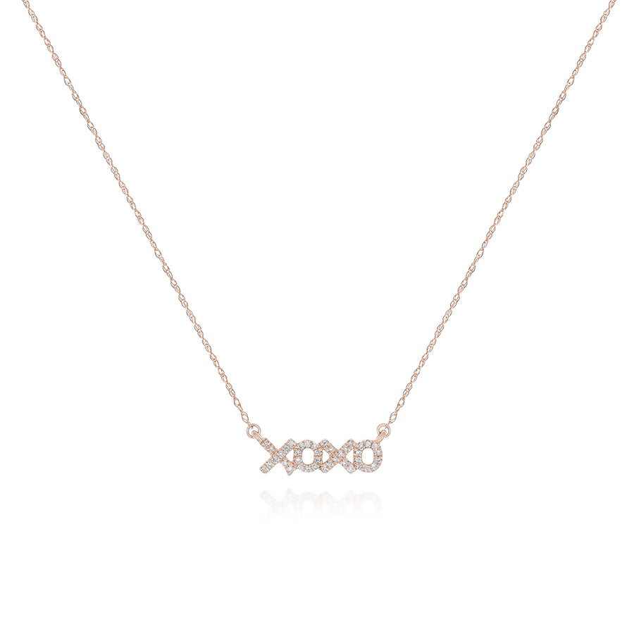 14k Rose Gold Diamond