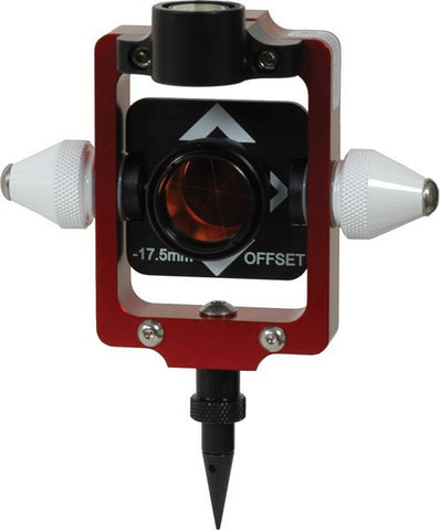 Compact & Portable Prism Pole System - Offset -17.5 mm Nodal