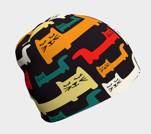 Cool Cats 2 Beanie - Fun With Chemo