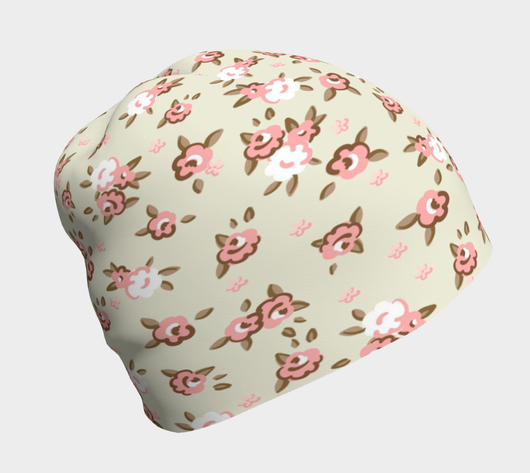 English Rose Beanie - Fun With Chemo