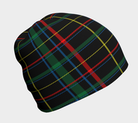 Cool Plaid Beanie - Fun With Chemo