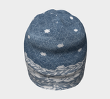 Denim and Lace Beanie - Fun With Chemo